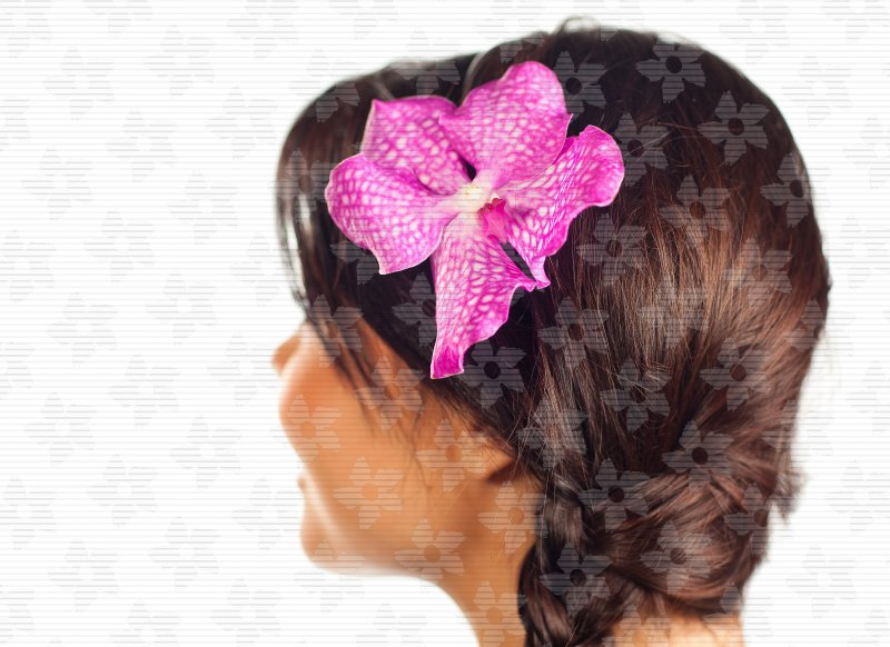 58983cf42 Čelenka s květy (Květina do vlasů) - Belles Fleurs