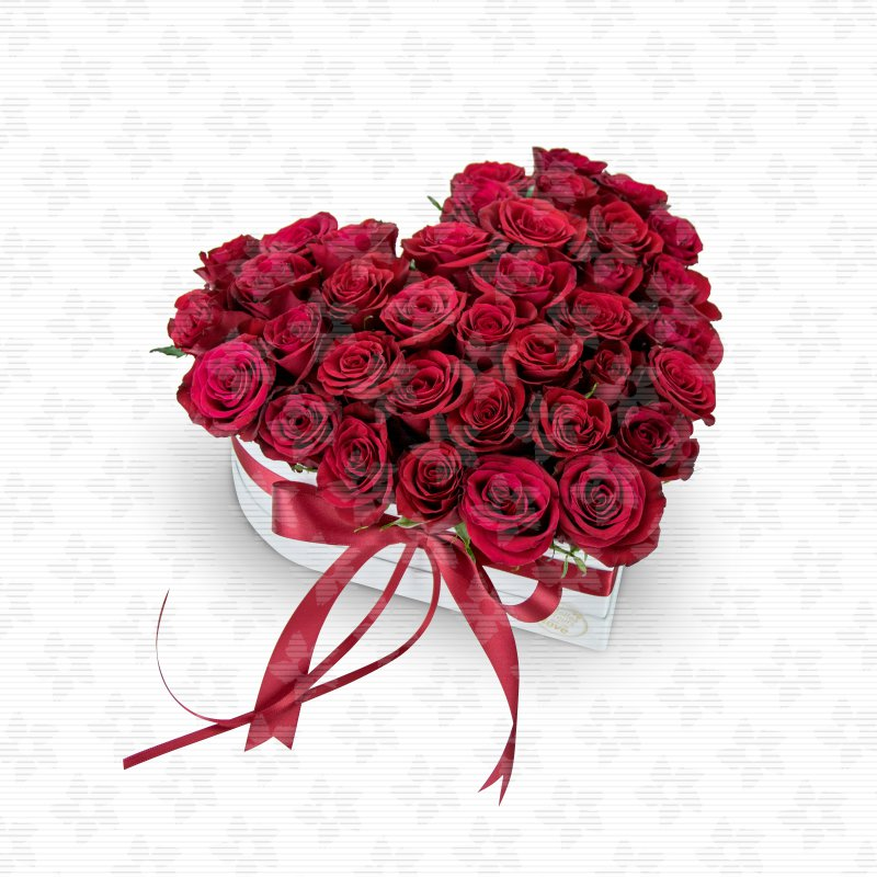 box of flowers sweet love belles fleurs