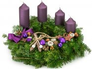 Advent wreath Ski